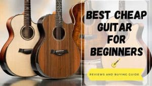 best cheap guitar for beginners