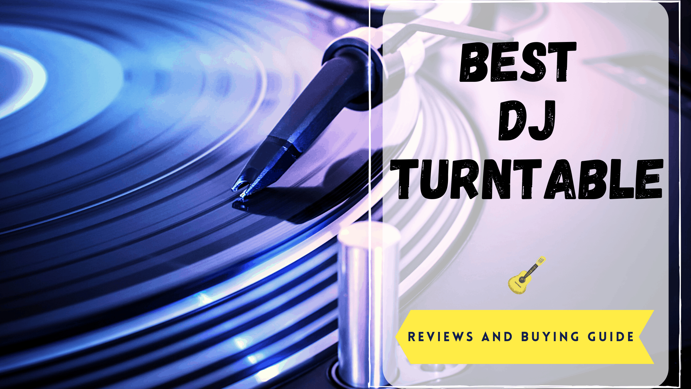 Best Dj Turntable