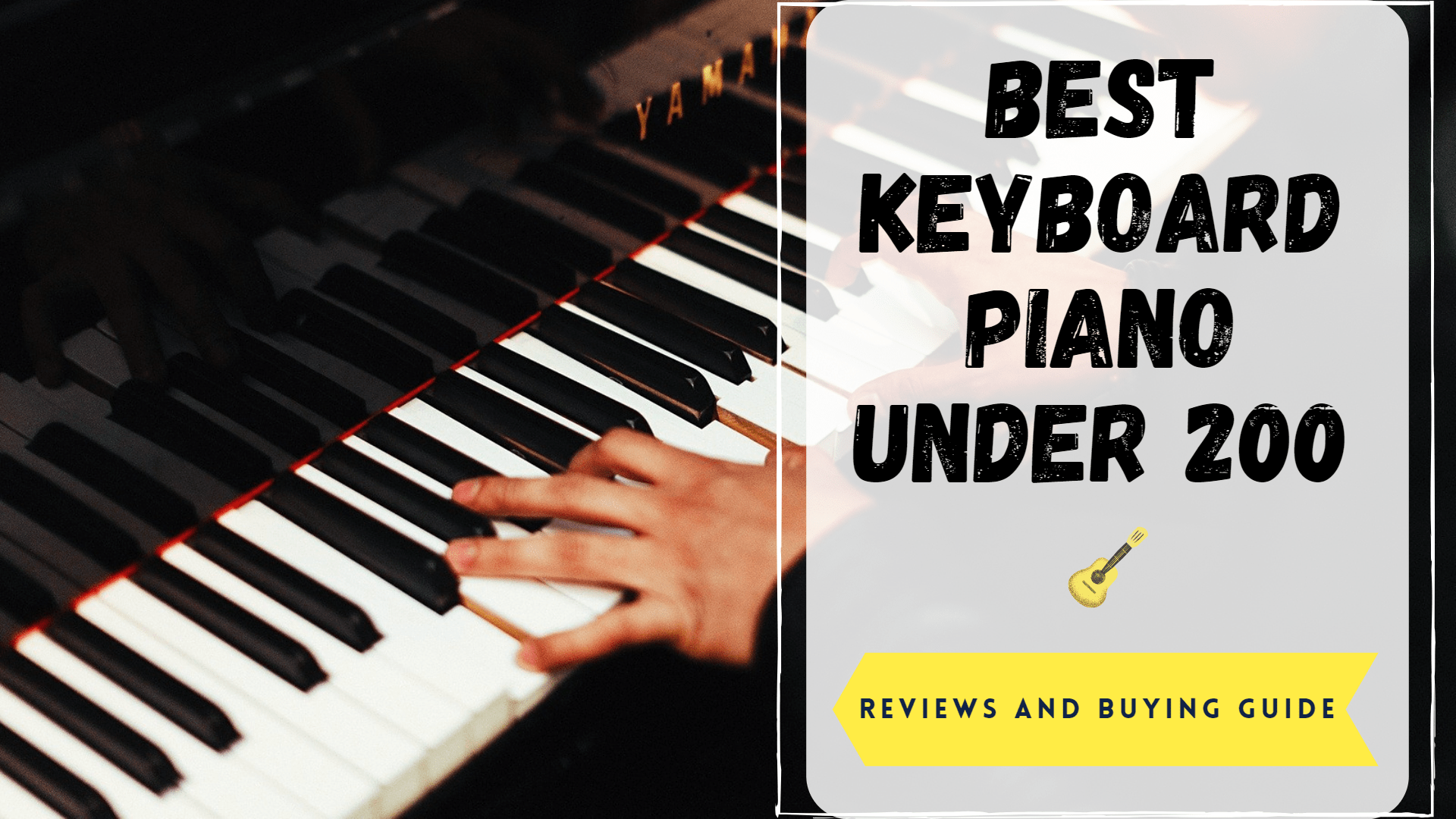 best keyboard piano under 200