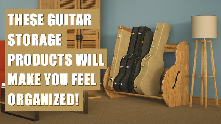 how to store guitar cases