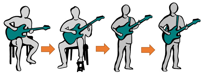 how to play guitar with fat fingers
